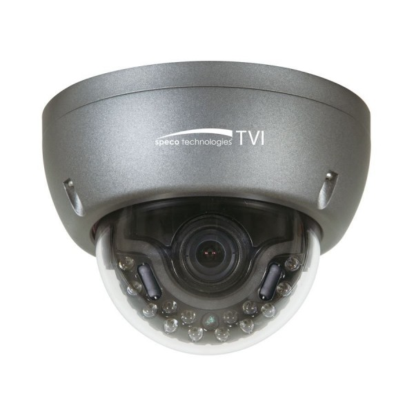 HT5941T SPECO 2MP 1080p Vandal Dome TVI, IR, 3.6mm lens, grey housing ************************* SPECIAL ORDER ITEM NO RETURNS OR SUBJECT TO RESTOCK FEE *************************