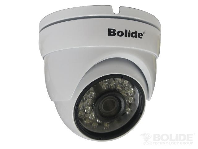 BC1209IROD/AHWQ BOLIDE 3.6mm, IP66, IR up to 65ft, 12VDC, 4 IN 1 AHD/TVI/CVI/Analog Quadbrid, OSD 2.0 MP HD 1080P TURRET, WHITE