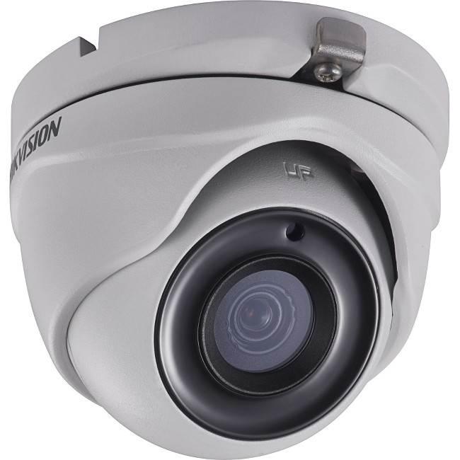 DS-2CE56D8T-ITM2.8MM Hikvision Outdoor IR Turret TurboHD 4.0 HD-TVI 2MP 2.8mm Ultra Low Light 20m EXIR 2.0 Day/Night True WDR Smart IR IP67 12 VDC