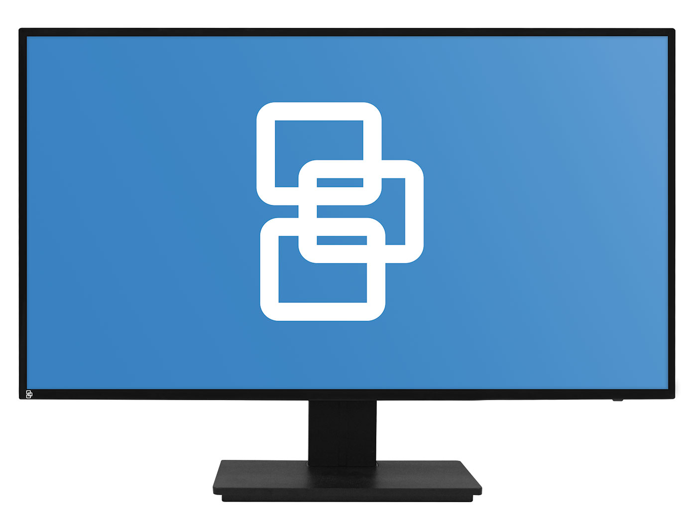 TVM-2402 INTERLOGIX TruVision LED 24 Class Full HD Monitor, HDMI/VGA/BNC