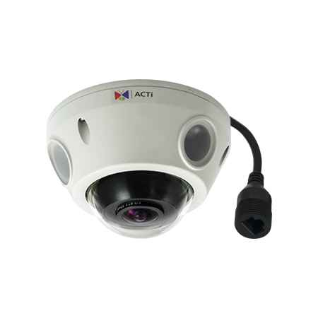 E925 ACTI FISHEYE OUTDOOR 5MP 180 DEGREE IR ************************* SPECIAL ORDER ITEM NO RETURNS OR SUBJECT TO RESTOCK FEE *************************