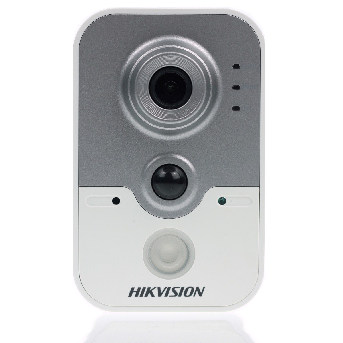 DS-2CD2442FWD-IW4MM HIKVISION 4mm Cube Camera, 4MP/960p, H264+, 2.8mm, WiFi, 120dB WDR, Day/Night, IR (10m), Mic, speaker, PIR, I/O, PoE/12VDC ************************* SPECIAL ORDER ITEM NO RETURNS OR SUBJECT TO RESTOCK FEE *************************