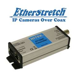 ET1500C NITEK IP Cameras over Coax - Transmitter- Extender w/POE Injector - up to 1,640 feet ************************* SPECIAL ORDER ITEM NO RETURNS OR SUBJECT TO RESTOCK FEE *************************
