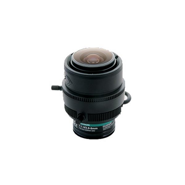 """YV2.8x2.8SR4A-SA2L Hikvision Lens 3MP 2.8-8mm 1/2.7"""" F1.3 D/N Auto Iris CS Mount"""