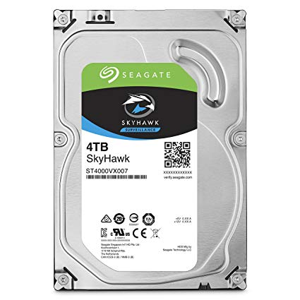 ST4000VX007 SEAGATE 4TB SKYHAWK SATA6GB/S 64MB 5900 RPM ************************* SPECIAL ORDER ITEM NO RETURNS OR SUBJECT TO RESTOCK FEE *************************