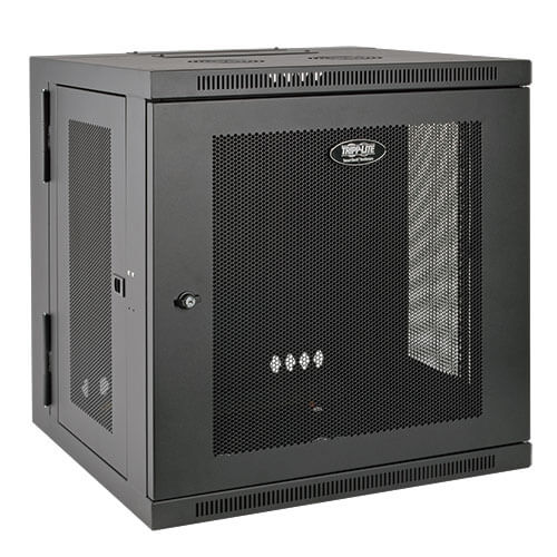 SRW10US TrippLite 10U Wall Mount Rack Enclosure Cabinet Hinged Wallmount w/ Door & Sides ************************* SPECIAL ORDER ITEM NO RETURNS OR SUBJECT TO RESTOCK FEE *************************