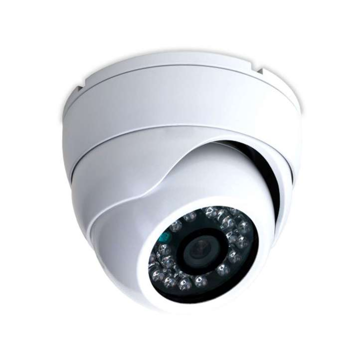 DF1036W ALEPH White 4 IN 1 EYEBALL CAMERA (ANALOG,AHD,TVI,CVI) W/23PC.IR 1080P, 2MP, IP66 12VDC