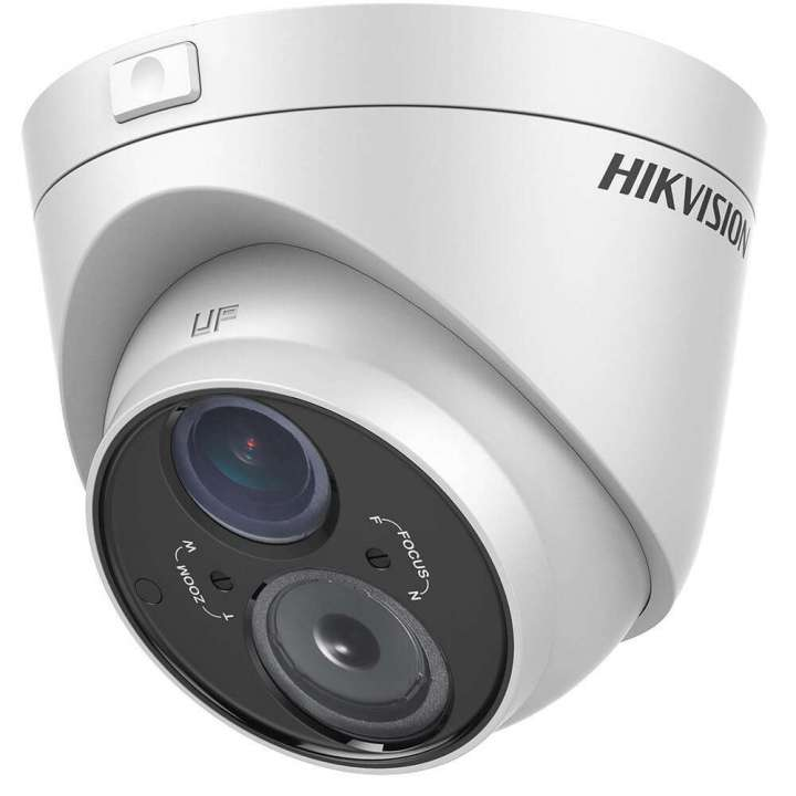 DS-2CE56C5T-VFIT3 HIKVISION Outdoor IR Turret, HD720p, 2.8-12mm, 50m EXIR, Day/Night, DWDR, Smart IR, UTC Menu, IP66, 12 VDC ************************* SPECIAL ORDER ITEM NO RETURNS OR SUBJECT TO RESTOCK FEE *************************