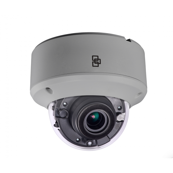 TVD-4406 INTERLOGIX TruVision HD-TVI Dome Camera, 5MPX (used w/5MPX or higher TVI recorders), 2.8~12mm Motorized Lens, True D/N, DWDR, 40m IR, HD-TVI Output, Coax & Button OSD Control, 12VDC/24VAC, IP67, IK10, NTSC ************************* SPECIAL ORDER ITEM NO RETURNS OR SUBJECT TO RESTOCK FEE *************************