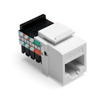 LEV41108-RY5 LEVITON CAT 5 T568A/B WIRING 8 POSITION 8 CONDUCTOR JACK NON-KEYED FITS ENTIRE QUICKPORT LINE YELLOW ************************* SPECIAL ORDER ITEM NO RETURNS OR SUBJECT TO RESTOCK FEE *************************