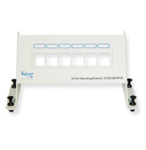 ICRESBMP06 ICC RESI MOUNTING PANEL, BLANK, 6-PORT ************************* SPECIAL ORDER ITEM NO RETURNS OR SUBJECT TO RESTOCK FEE *************************