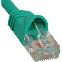 ICPCSK01GN ICC PATCH CORD, CAT 6, MOLDED BOOT, 1' GN