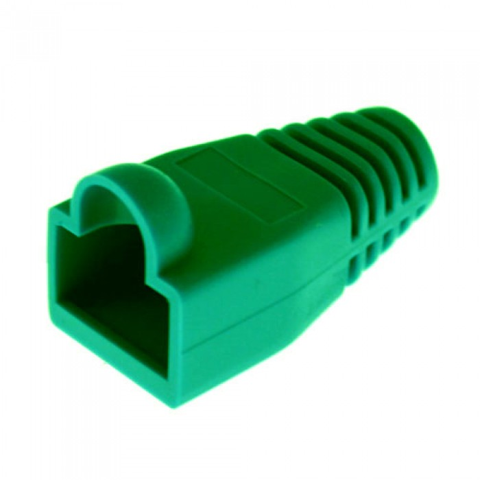 105075 PLATINUM RJ45 Boot, 6.0mm Max OD, Green.(Bulk,1ea.) Pkg 100pc/Bag. ************************* SPECIAL ORDER ITEM NO RETURNS OR SUBJECT TO RESTOCK FEE *************************