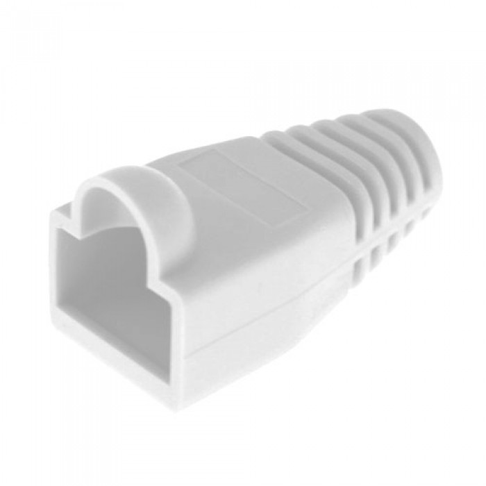 105087 PLATINUM TOOLS RJ45 Boot, 6.5mm Max OD, White.(Bulk,1ea.) Pkg 100pc/Bag. ************************* SPECIAL ORDER ITEM NO RETURNS OR SUBJECT TO RESTOCK FEE *************************