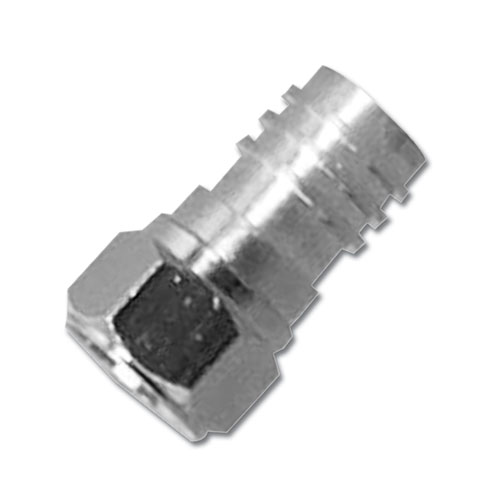 2103 CHANNELVISION F-CONNECTOR CRIMP ON TYPE FOR RG59 ************************* CLEARANCE ITEM-NO RETURNS *************************