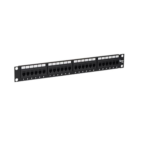 ICMPP24CP6 ICC PATCH PANEL,CAT 6, FEED-THRU 24-P,1RMS ************************* SPECIAL ORDER ITEM NO RETURNS OR SUBJECT TO RESTOCK FEE *************************