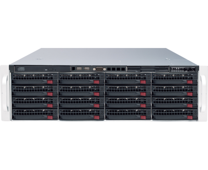 DW-BJER2U16T DIGITAL WATCHDOG Blackjack E-Rack NVR Powered by DW Spectrum IPVMS Software, Includes 4 IP Camera Licenses, 2U rack-mount, 12 HDD Bay, 16TB HDD (raw storage), Capable of managing 128 1080P Cameras at 30fps, 600 Mbps throughput , RAID 5, I7 Processor, 8G Memory, 1Gbps X2, VGA / HDMI X 2 / DP X 4, Win 7 64 Bit OS, Cross Platform: Windows and Linux, Graphic System Health Monitor, True Enterprise Scalability, Automatic Camera Detection, Local Client Display, Fully, Customizable Layouts, Easy Drag and Drop Camera Management and Recording, E-Mapping, Advanced Motion Masking and Sensitivity Settings, 16TB Expandable to 48TB HDD ************************* SPECIAL ORDER ITEM NO RETURNS OR SUBJECT TO RESTOCK FEE *************************