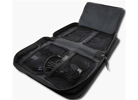 VEC-CM-ZIP POUCH VEC PADDED FOUR POCKET POUCH. DESIGNED TO HOLD CM-1000USB AND CM-1000 MICROPHONES