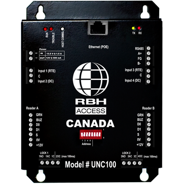 RBH-UNC-500-425M RBHUSA AXIOM UNC-500 HYBRID EDGE 2 DOOR RACK MOUNT CONTROL PS NOT INCLUDED ************************* SPECIAL ORDER ITEM NO RETURNS OR SUBJECT TO RESTOCK FEE *************************