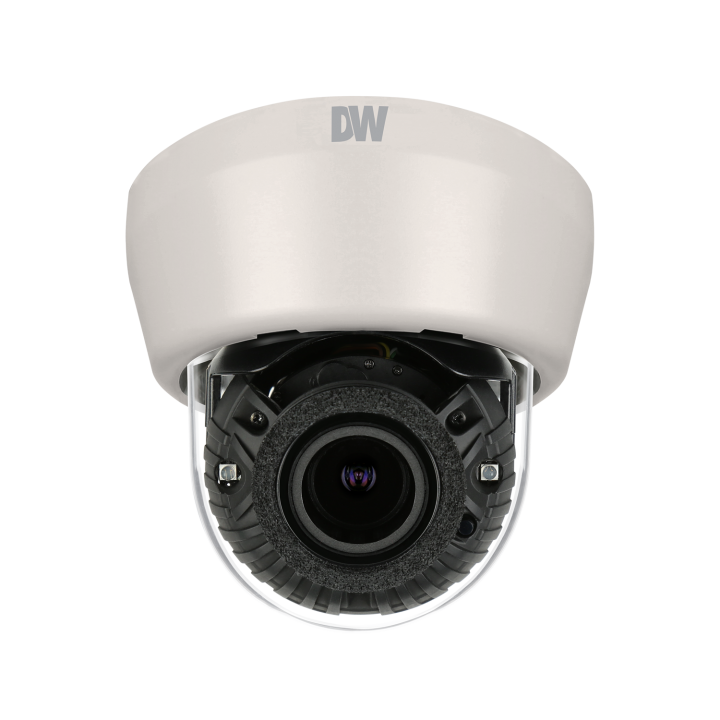 DWC-MD421TIR DIGITAL WATCHDOG ONVIF Compliant, 2.1 Megapixels (1080P, 30fps), Triple Codecs (H.264, MJPEG, MPEG4) with Dual Stream, 1/2.8 CMOS Sensor, 3.5~16mm Auto Focus Lens, 8X Digital Zoom, 4.5X Optical Zoom, True Day and Night, 70ft Range IR with Intelligent Camera Sync, Power over Ethernet [PoE] & DC12V, Two-Way Audio, Local SDHC Card Remote Backup, E-mail Event Notifications, Web Server Built-in, Double Shutter WDR Wide Dynamic Range), 3D-DNR (3D Digital Noise Reduction), Programmable Privacy Zones (30) & Motion Detection . 2Year Warranty ************************** CLEARANCE ITEM- NO RETURNS *****ALL SALES FINAL****** **************************