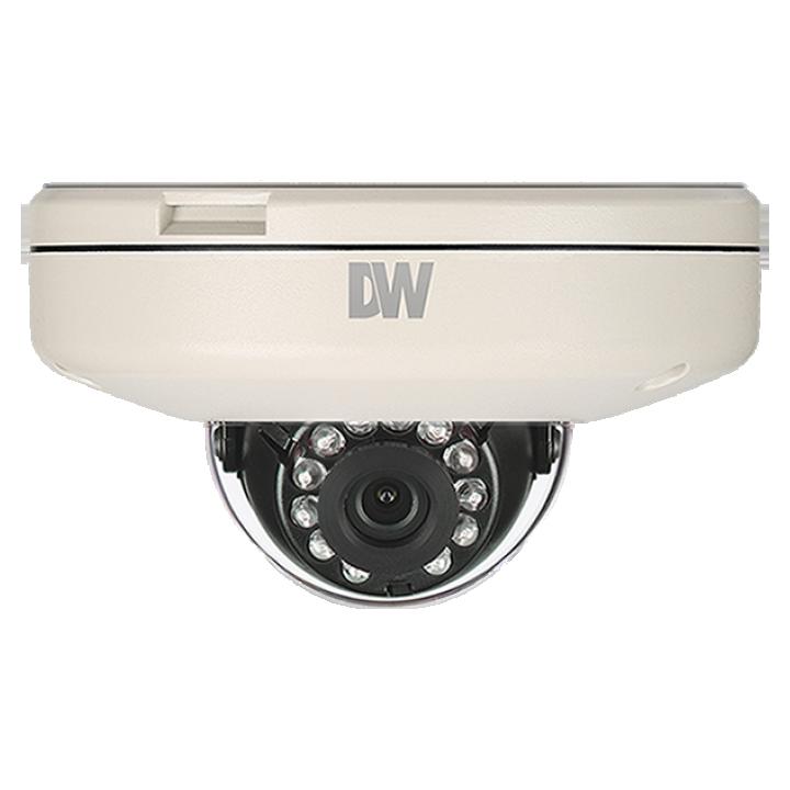 "DWC-MF21M4TIR DIGITAL WATCHDOG MEGApix Flat Vandal Dome Camera, 4.0mm Fixed Lens, 50ft Range IR, OnVIF Compliant, True D&N, 2.1 Megapixels (1920x1080 @ 30fps), 1/2.8"" CMOS Sensor, 12x Digital Zoom, PoE + DC12V, WDR, 3D-DNR, IP66 Certified. ************************* SPECIAL ORDER ITEM NO RETURNS OR SUBJECT TO RESTOCK FEE *************************"