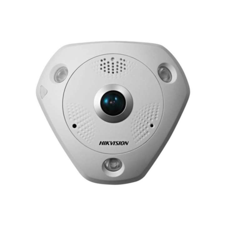 DS-2CD6332FWD-I HIKVISION Panaramic 180/360 degree, Indoor, 3MP, True WDR, Day/Night, IR, PoE/12VDC