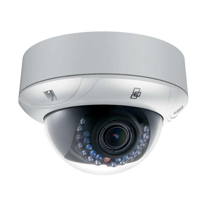 TVD-3202 UTC TruVision IP Mini Dome Camera, 3.0MPx , 2.8~12mm VF lens, WDR, true D/N, 30m IR, Audio, Alarm, SD/SHDC slot, Intelligence, POE (803.af) /12VDC, IP66, IK10