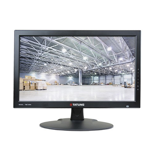 "TME19WA TATUNG 18.5"" TM Economic Series: CCFL type Backlighted LED Monitor - WIDE DISPLAY - HDMI VGA BNC ************************* SPECIAL ORDER ITEM NO RETURNS OR SUBJECT TO RESTOCK FEE *************************"