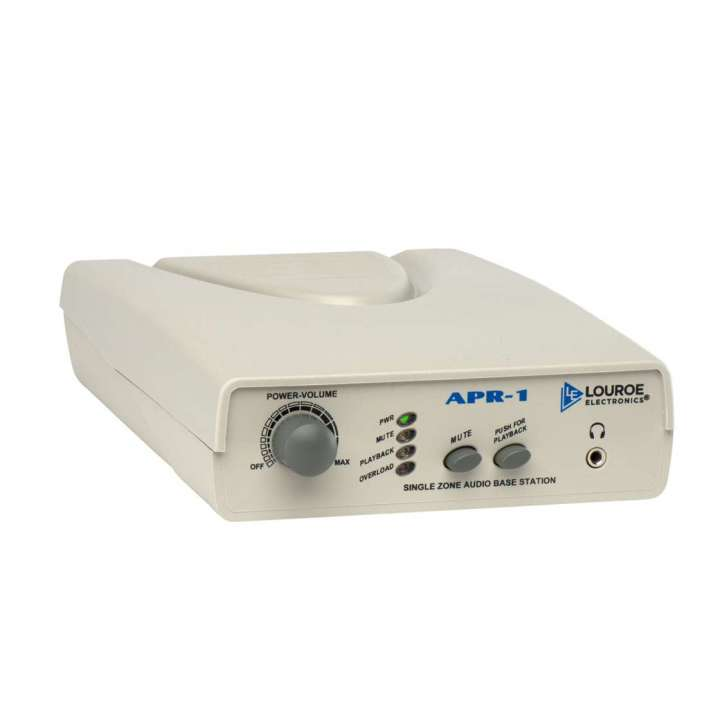 LE-146 LOUROE APR-1 1 ZONE BASE STATION FOR USE WITH TIME LAPSE RECORDER ************************* SPECIAL ORDER ITEM NO RETURNS OR SUBJECT TO RESTOCK FEE *************************