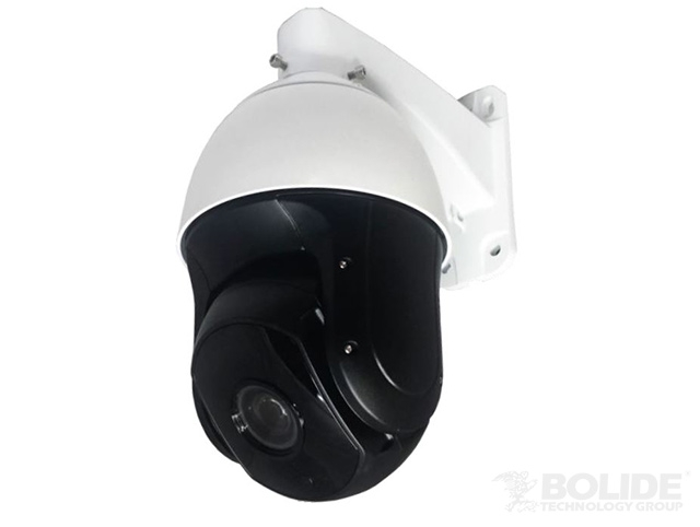 "BC1209PTZ/AH BOLIDE AHD PTZ Outdoor Camera, 1/3"" Sony 1080P, IR up to 360ft, D/N with ICR, 128 preset, 4 scans, 4 tours, 4 patterns, clock function, RS485, Pelco P/D auto Recognition, Lightning-proof, surge proof, IP66, 24VAC INCLUDED W/ WALL ARM ************************* SPECIAL ORDER ITEM NO RETURNS OR SUBJECT TO RESTOCK FEE *************************"