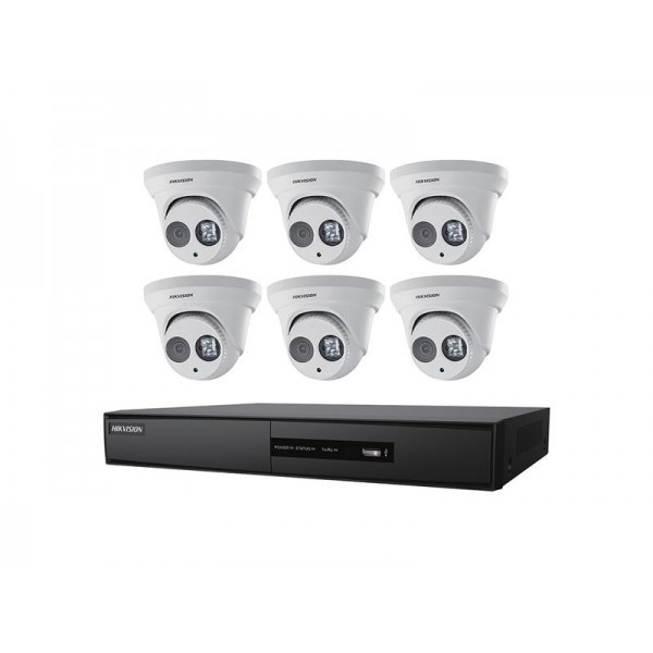 I7608N2TP HIKVISION KIT NVR 8CH 2TB 6 TUR 4MP 2.8M ************************* SPECIAL ORDER ITEM NO RETURNS OR SUBJECT TO RESTOCK FEE *************************
