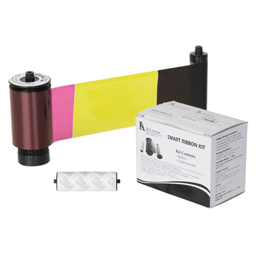 650637 IDP FULL COLOR 2 RESIN BLACK & OVERLAY PANEL RIBBON W/CLEANING ROLLER, 200 CARDS PER ROLL ************************* SPECIAL ORDER ITEM NO RETURNS OR SUBJECT TO RESTOCK FEE *************************