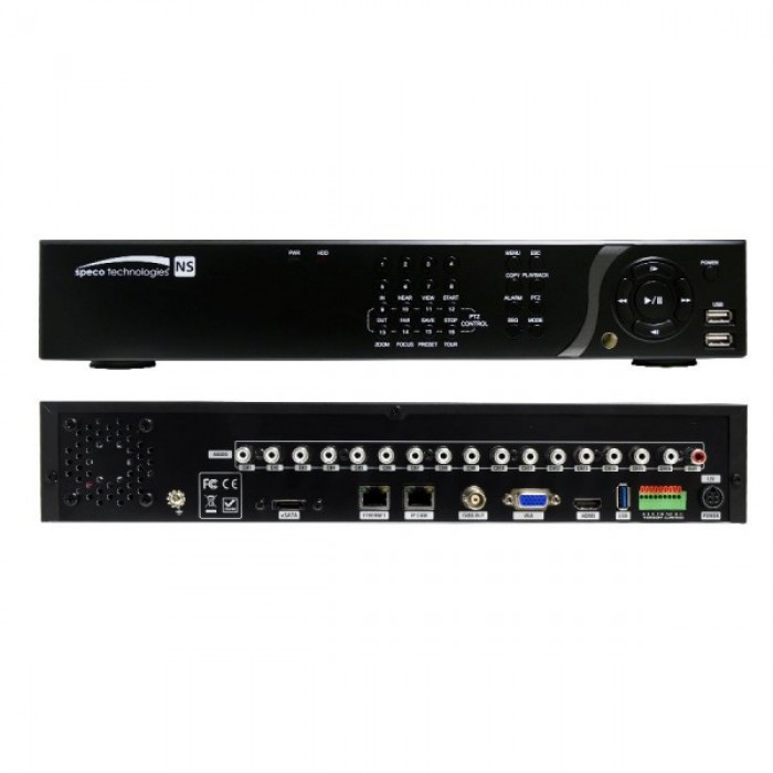 N32NS8TB SPECO 32 CHANNEL 4K NETWORK SERVER 8TB ************************* SPECIAL ORDER ITEM NO RETURNS OR SUBJECT TO RESTOCK FEE *************************