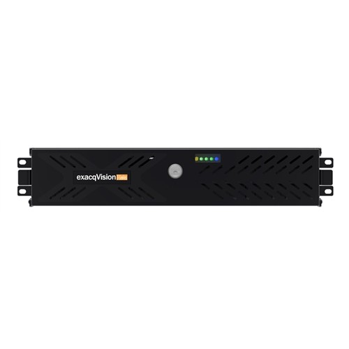 IP08-48T-R2Z EXACQ Rackmount 2U recorder with 8 IP licenses (128 max), dual Gb NIC, HDMI, DVI-I, DisplayPort (2 max. simultaneous),RS-232/485 serial port, RAID 5, Win 7 64 bit or Ubuntu 14.04 linux on 60GB SSD, redundant power supplies, keyboard and mouse, exacqvision Professional client and server software pre-installed, 3 year warranty and software updates. ************************* SPECIAL ORDER ITEM NO RETURNS OR SUBJECT TO RESTOCK FEE *************************