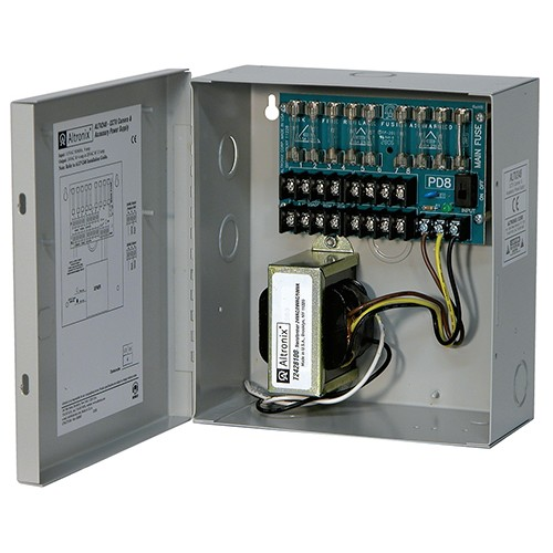 ALTV248 ALTRONIX 24VAC POWER SUPPLY 4 AMP 8 OUTLET
