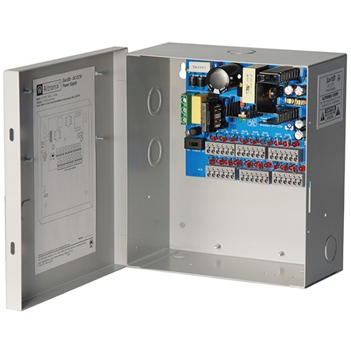 """SAV18D ALTRONIX 18 OUTPUT CCTV POWER SUPPLY - 12VDC @ 5 AMP, PTC OUTPUTS, FIELD INSTALLABLE GROUNDED LINE CORD, ENCL 8.5""""H X 7.5""""W X 3.75""""D, 115/230VAC INPUT UL LISTED (UL2044), CUL LISTED"""