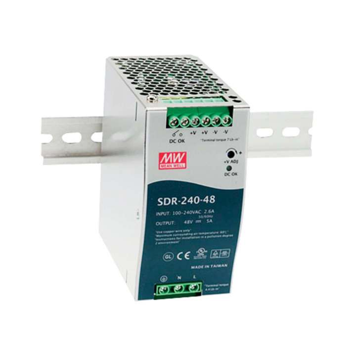 PS48VDC240W-DIN UTC POE SWITCH POWER SUPPLY ************************* SPECIAL ORDER ITEM NO RETURNS OR SUBJECT TO RESTOCK FEE *************************