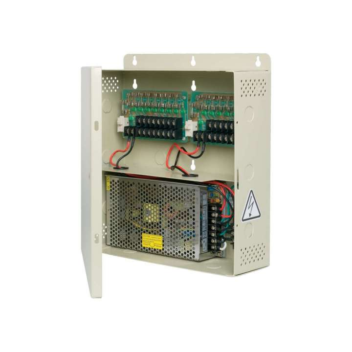 TVPS-16-12DC UTC TRUVISION TruVision 16 CHANNEL 18.5 AMP FUSED POWER SUPPLY ************************* SPECIAL ORDER ITEM NO RETURNS OR SUBJECT TO RESTOCK FEE *************************