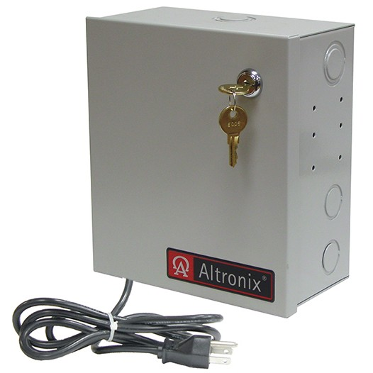 "ALTV248ULMI3 ALTRONIX 8 Output Isolated CCTV Power Supply - 24VAC @ 12.5 amp, isolated fused Class 2 power limited outputs rated @ 1.56 amp each, encl. 8.5""H x 7.5""W x 3.75""D, 115VAC input Factory installed 3-wire line cord, UL Listed (UL2044), cUL Listed. ************************* SPECIAL ORDER ITEM NO RETURNS OR SUBJECT TO RESTOCK FEE *************************"