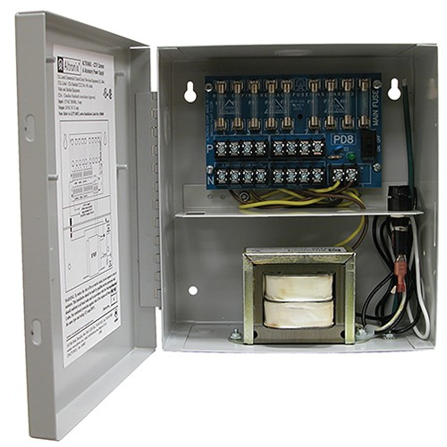 ALTV248UL ALTRONIX 8 CAMERA 24VAC 3.5A POWER SUPPLY UL LISTED ************************* SPECIAL ORDER ITEM NO RETURNS OR SUBJECT TO RESTOCK FEE *************************