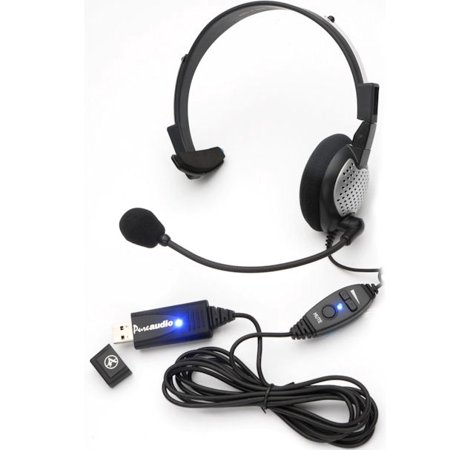AND-C1-1022300-50 ANDREA NC-181VM USB ON-EAR MONAURAL COMPUTER HEADSET IN RETAIL PACKAGING