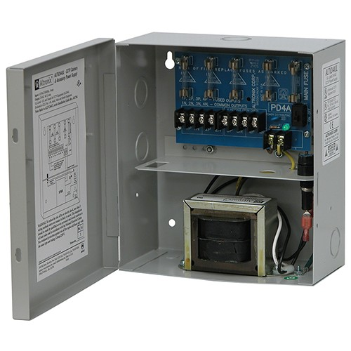 ALTV244UL ALTRONIX 24VAC 3.5A CCTV POWER SUPPLY 4 OUTPUTS UL LISTED ************************* SPECIAL ORDER ITEM NO RETURNS OR SUBJECT TO RESTOCK FEE *************************