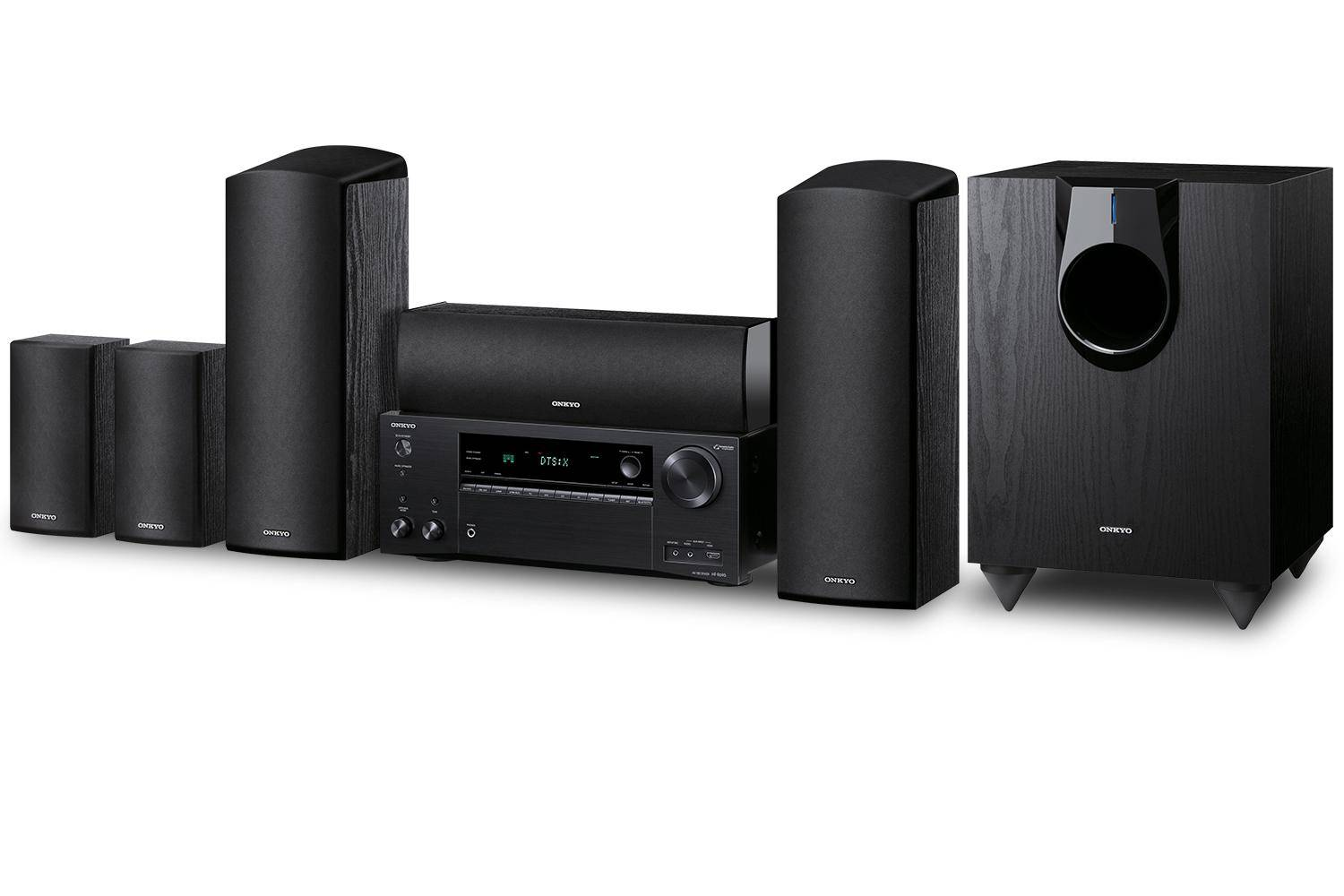 HT-S7800 ONKYO 5.1.2-Channel Dolby Atmos/DTS:X Network A/V Receiver & Speaker Package