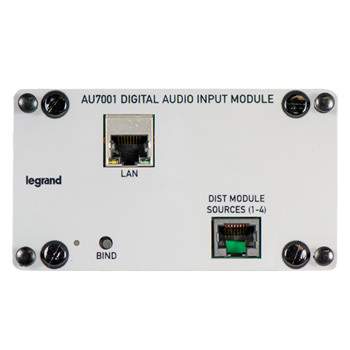 AU7001 ON-Q DIGITAL AUDIO INPUT MODULE ************************* SPECIAL ORDER ITEM NO RETURNS OR SUBJECT TO RESTOCK FEE *************************