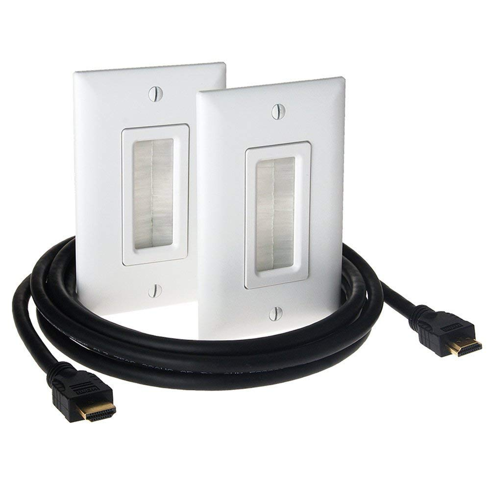 HT2000WHV1 ON-Q BASIC INWALL HDMI SIGNAL DISTRI KIT ************************* SPECIAL ORDER ITEM NO RETURNS OR SUBJECT TO RESTOCK FEE *************************