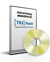TX3-TOUCH-ADV MIRCOM ADVERTISING MODULE ************************* SPECIAL ORDER ITEM NO RETURNS OR SUBJECT TO RESTOCK FEE *************************