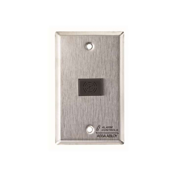 TS-42 ALARM CONTROL SG PLATE WITH BUZZER 12 OR 24VDC 3 TONE SELECTABLE