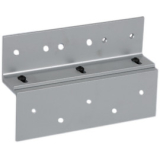 TJ75X28 RUTHERFORD TOP JAMB/ANGLE BRACKET KIT FOR 8375 BRUSHED ALUM ************************* SPECIAL ORDER ITEM NO RETURNS OR SUBJECT TO RESTOCK FEE *************************
