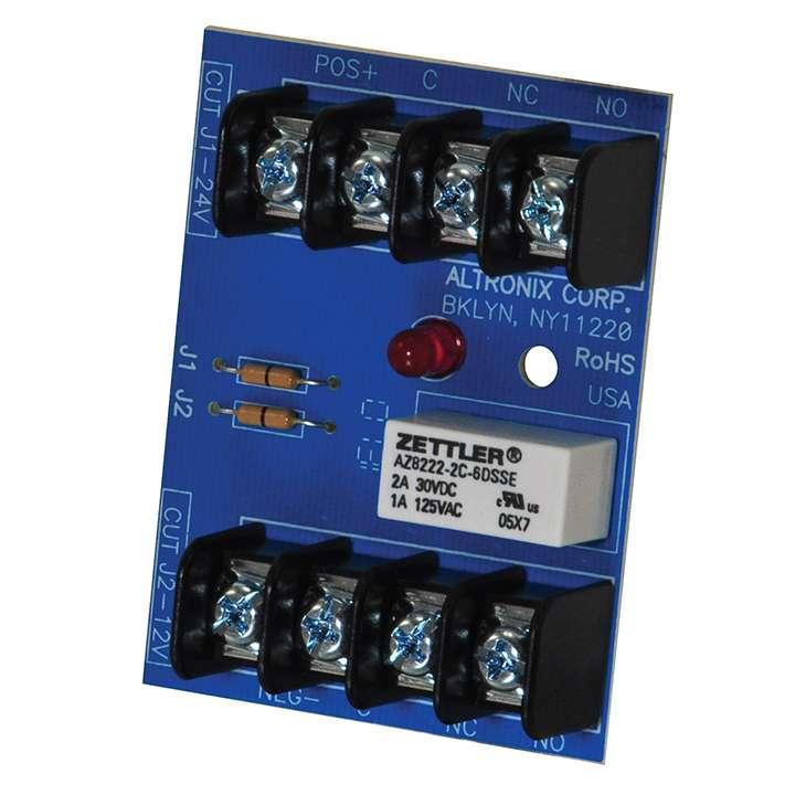 "RBST ALTRONIX RELAY MODULE 6/12/24VDC, 2AMP/120VAC/28VDC DPDT FORM ""C"" CONTACTS"