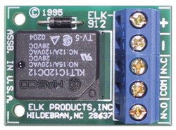 ELK912 ELK RELAY SPDT 12V SINGLE PACK ************************* SPECIAL ORDER ITEM NO RETURNS OR SUBJECT TO RESTOCK FEE *************************